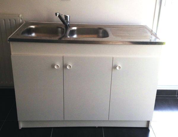 Meuble Sous évier 120 3 Portes Ikea