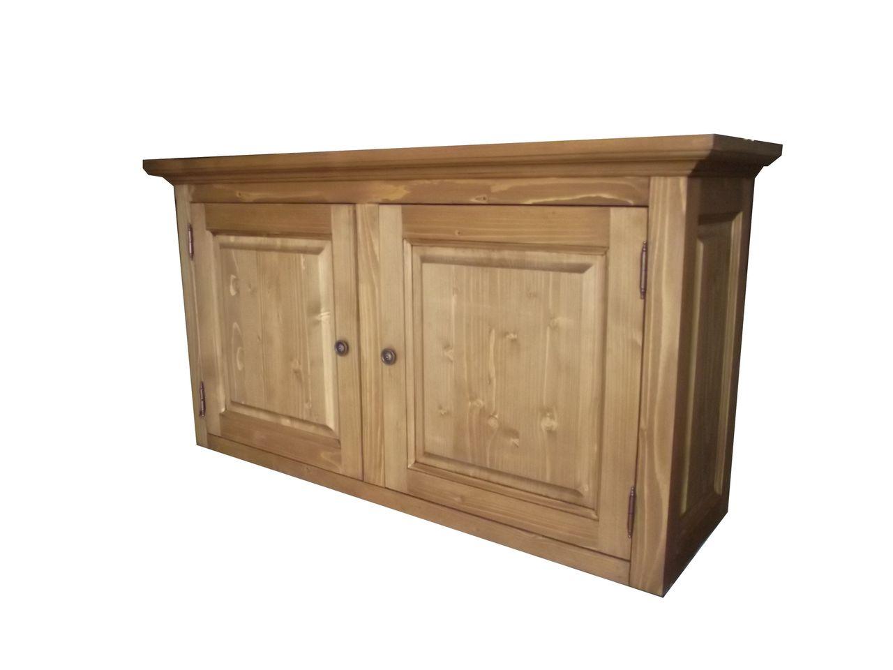 meuble haut cuisine bois brut - idée pour cuisine