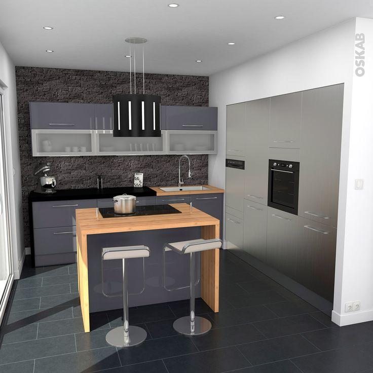 Meuble cuisine mur