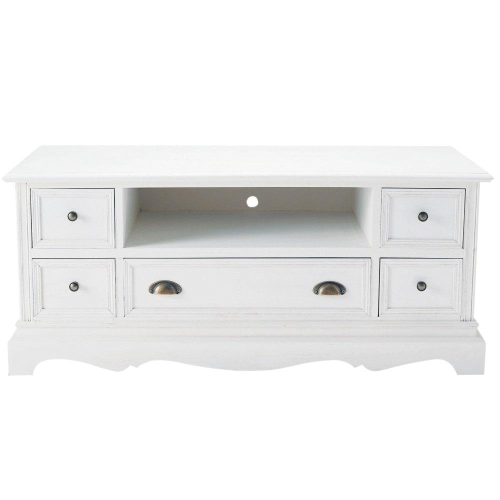 Maison du monde petit meuble blanc - Idée pour cuisine