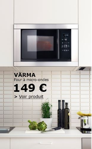 meuble cuisine ikea pour micro onde id e pour cuisine. Black Bedroom Furniture Sets. Home Design Ideas