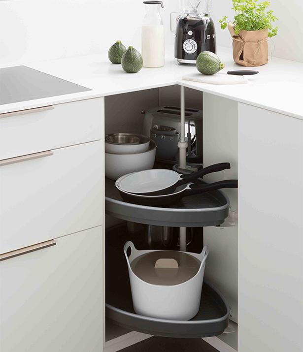 Meuble cuisine d 39 angle id e pour cuisine - Meuble d angle pour cuisine ...
