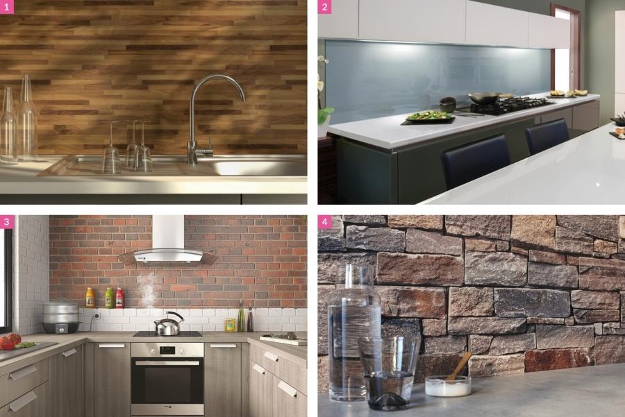 credence avec cuisine bois id e pour cuisine. Black Bedroom Furniture Sets. Home Design Ideas