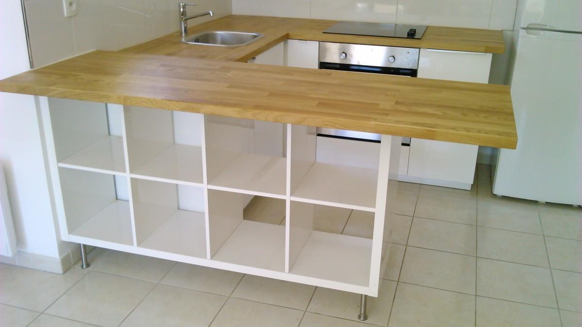 Incroyable Meuble Separation Cuisine Salon Ikea