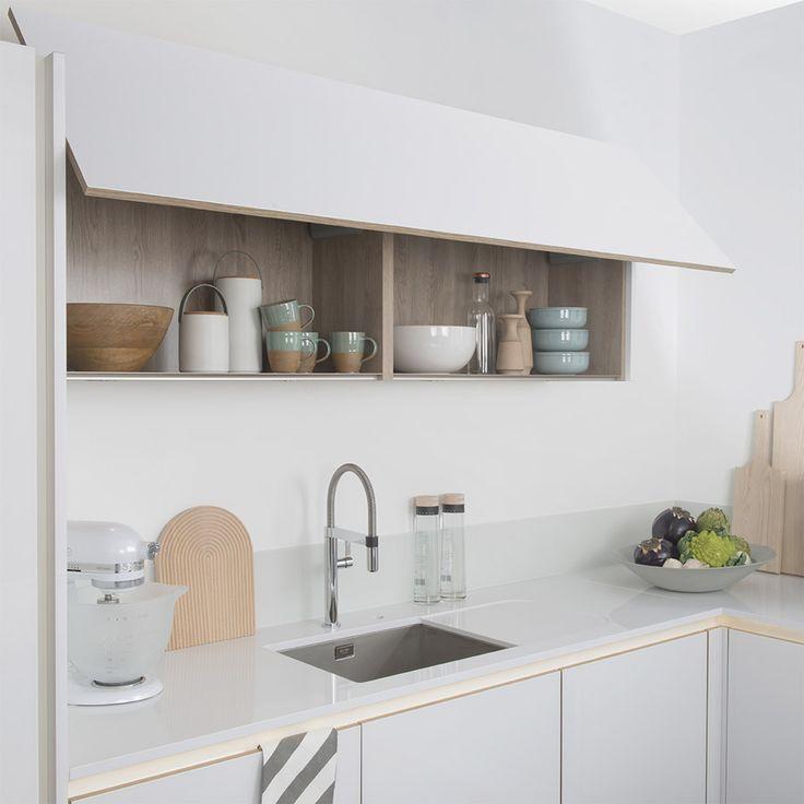 meuble haut cuisine taupe id e pour cuisine. Black Bedroom Furniture Sets. Home Design Ideas