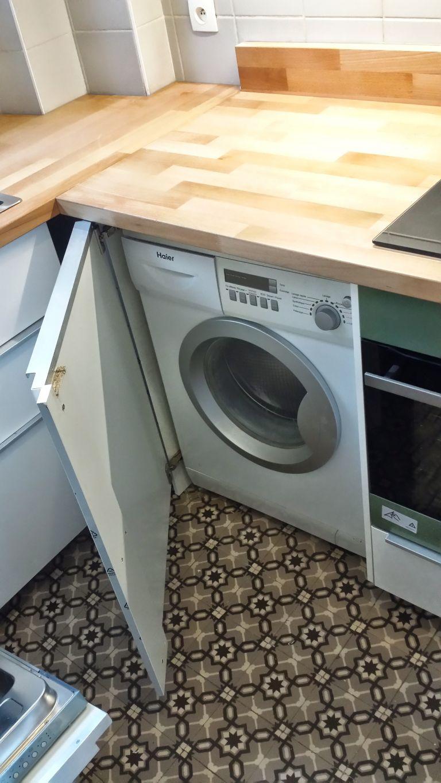 Meuble cuisine machine à laver