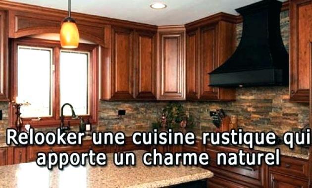 Relooker cuisine rustique chene id e pour cuisine Relooker une cuisine rustique en chene