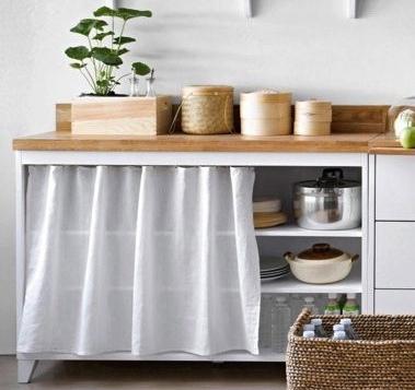 meuble rideau cuisine pas cher id e pour cuisine. Black Bedroom Furniture Sets. Home Design Ideas