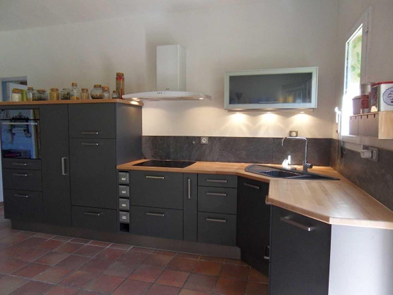 relooker sa cuisine rustique blanc cass id e pour cuisine. Black Bedroom Furniture Sets. Home Design Ideas