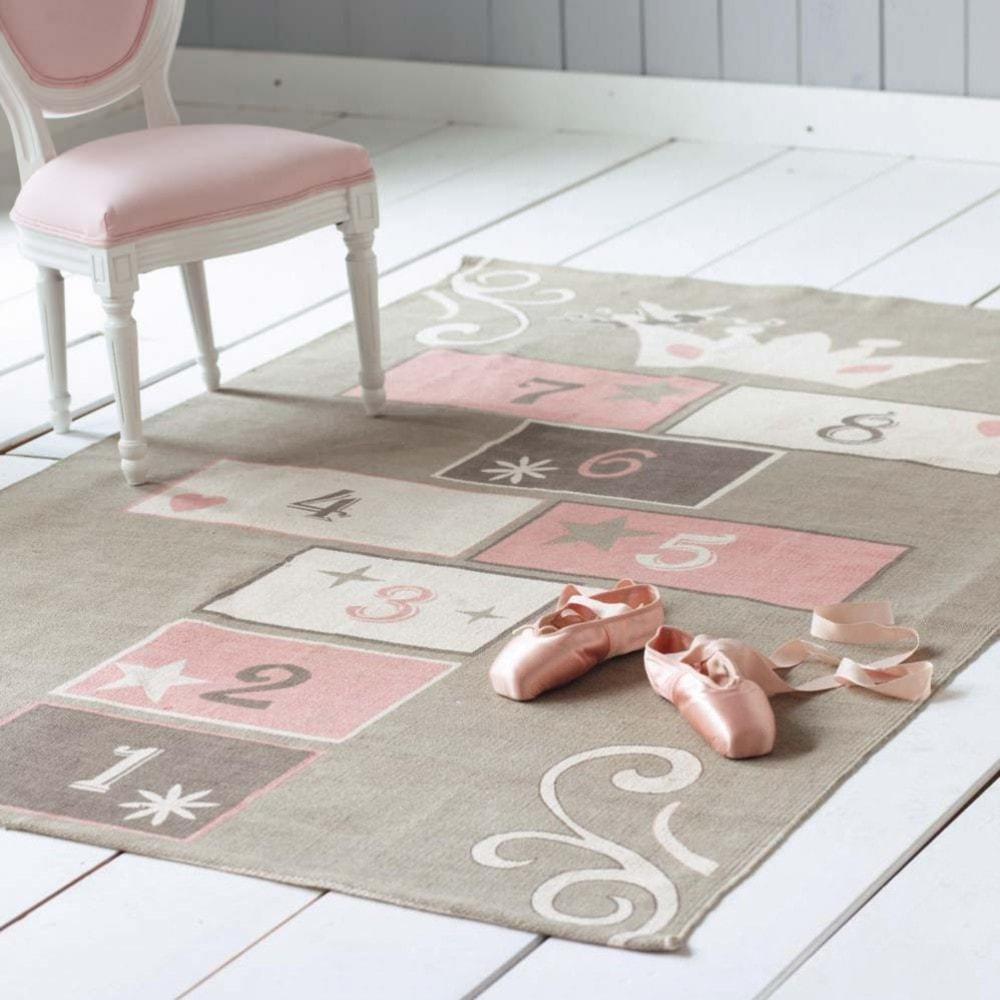 Maison du monde tapis rose