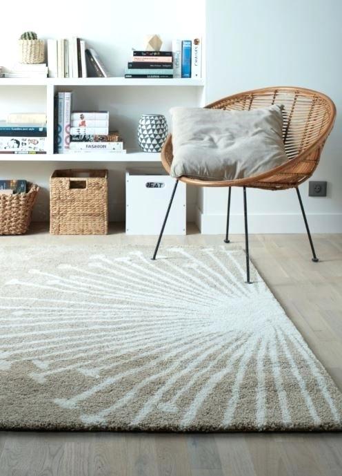 Maison du monde tapis taupe